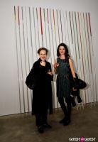 Jorinde Voigt opening reception at David Nolan Gallery #74