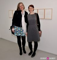 Jorinde Voigt opening reception at David Nolan Gallery #136