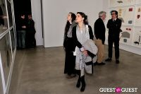 Jorinde Voigt opening reception at David Nolan Gallery #144