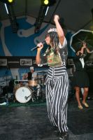 Santigold Performs At Fader Fort Sponsored By Converse For SXSW #15