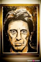 "The Rolling Stones' Ronnie Wood art exhibition ""Faces, Time and Places"" at Symbolic Gallery #6"