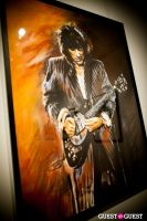 "The Rolling Stones' Ronnie Wood art exhibition ""Faces, Time and Places"" at Symbolic Gallery #9"