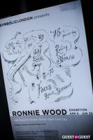 "The Rolling Stones' Ronnie Wood art exhibition ""Faces, Time and Places"" at Symbolic Gallery #23"