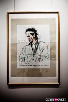 "The Rolling Stones' Ronnie Wood art exhibition ""Faces, Time and Places"" at Symbolic Gallery #27"