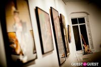 "The Rolling Stones' Ronnie Wood art exhibition ""Faces, Time and Places"" at Symbolic Gallery #37"
