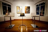 "The Rolling Stones' Ronnie Wood art exhibition ""Faces, Time and Places"" at Symbolic Gallery #40"