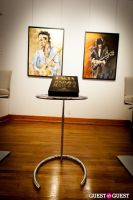 "The Rolling Stones' Ronnie Wood art exhibition ""Faces, Time and Places"" at Symbolic Gallery #41"
