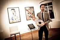 """The Rolling Stones' Ronnie Wood art exhibition """"Faces, Time and Places"""" at Symbolic Gallery #47"""