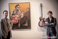 "The Rolling Stones' Ronnie Wood art exhibition ""Faces, Time and Places"" at Symbolic Gallery #51"