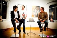 "The Rolling Stones' Ronnie Wood art exhibition ""Faces, Time and Places"" at Symbolic Gallery #53"