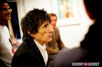 "The Rolling Stones' Ronnie Wood art exhibition ""Faces, Time and Places"" at Symbolic Gallery #63"