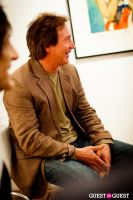 "The Rolling Stones' Ronnie Wood art exhibition ""Faces, Time and Places"" at Symbolic Gallery #65"
