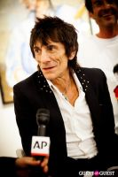 "The Rolling Stones' Ronnie Wood art exhibition ""Faces, Time and Places"" at Symbolic Gallery #70"