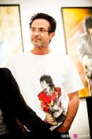 "The Rolling Stones' Ronnie Wood art exhibition ""Faces, Time and Places"" at Symbolic Gallery #71"