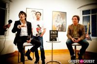 "The Rolling Stones' Ronnie Wood art exhibition ""Faces, Time and Places"" at Symbolic Gallery #75"