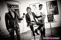 "The Rolling Stones' Ronnie Wood art exhibition ""Faces, Time and Places"" at Symbolic Gallery #76"