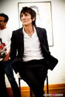 "The Rolling Stones' Ronnie Wood art exhibition ""Faces, Time and Places"" at Symbolic Gallery #80"
