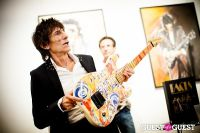 """The Rolling Stones' Ronnie Wood art exhibition """"Faces, Time and Places"""" at Symbolic Gallery #82"""