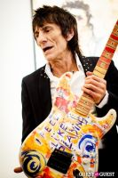 "The Rolling Stones' Ronnie Wood art exhibition ""Faces, Time and Places"" at Symbolic Gallery #83"