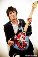 "The Rolling Stones' Ronnie Wood art exhibition ""Faces, Time and Places"" at Symbolic Gallery #84"