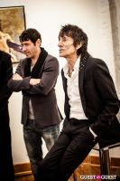 "The Rolling Stones' Ronnie Wood art exhibition ""Faces, Time and Places"" at Symbolic Gallery #85"