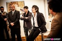 "The Rolling Stones' Ronnie Wood art exhibition ""Faces, Time and Places"" at Symbolic Gallery #86"
