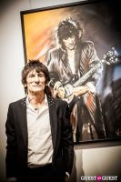 "The Rolling Stones' Ronnie Wood art exhibition ""Faces, Time and Places"" at Symbolic Gallery #89"