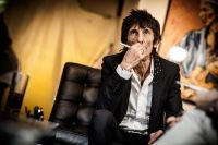 "The Rolling Stones' Ronnie Wood art exhibition ""Faces, Time and Places"" at Symbolic Gallery #98"