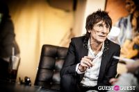 "The Rolling Stones' Ronnie Wood art exhibition ""Faces, Time and Places"" at Symbolic Gallery #99"