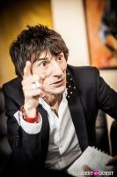 "The Rolling Stones' Ronnie Wood art exhibition ""Faces, Time and Places"" at Symbolic Gallery #107"