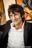 "The Rolling Stones' Ronnie Wood art exhibition ""Faces, Time and Places"" at Symbolic Gallery #112"