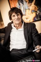 "The Rolling Stones' Ronnie Wood art exhibition ""Faces, Time and Places"" at Symbolic Gallery #115"