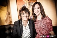 "The Rolling Stones' Ronnie Wood art exhibition ""Faces, Time and Places"" at Symbolic Gallery #118"