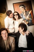 "The Rolling Stones' Ronnie Wood art exhibition ""Faces, Time and Places"" at Symbolic Gallery #123"