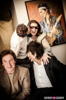 "The Rolling Stones' Ronnie Wood art exhibition ""Faces, Time and Places"" at Symbolic Gallery #125"