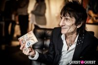 "The Rolling Stones' Ronnie Wood art exhibition ""Faces, Time and Places"" at Symbolic Gallery #130"