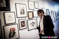 "The Rolling Stones' Ronnie Wood art exhibition ""Faces, Time and Places"" at Symbolic Gallery #134"