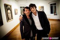 "The Rolling Stones' Ronnie Wood art exhibition ""Faces, Time and Places"" at Symbolic Gallery #137"