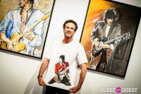 "The Rolling Stones' Ronnie Wood art exhibition ""Faces, Time and Places"" at Symbolic Gallery #138"