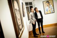 "The Rolling Stones' Ronnie Wood art exhibition ""Faces, Time and Places"" at Symbolic Gallery #141"