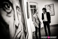 "The Rolling Stones' Ronnie Wood art exhibition ""Faces, Time and Places"" at Symbolic Gallery #144"
