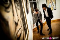 "The Rolling Stones' Ronnie Wood art exhibition ""Faces, Time and Places"" at Symbolic Gallery #147"