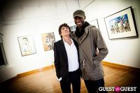 "The Rolling Stones' Ronnie Wood art exhibition ""Faces, Time and Places"" at Symbolic Gallery #149"