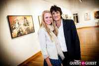 "The Rolling Stones' Ronnie Wood art exhibition ""Faces, Time and Places"" at Symbolic Gallery #150"