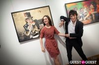 "The Rolling Stones' Ronnie Wood art exhibition ""Faces, Time and Places"" at Symbolic Gallery #151"
