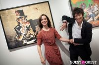 "The Rolling Stones' Ronnie Wood art exhibition ""Faces, Time and Places"" at Symbolic Gallery #152"
