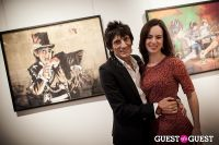 "The Rolling Stones' Ronnie Wood art exhibition ""Faces, Time and Places"" at Symbolic Gallery #155"