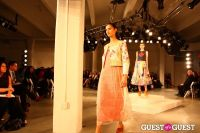 2012 Pratt Institute Fashion Show Honoring Fern Mallis #171