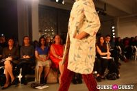 2012 Pratt Institute Fashion Show Honoring Fern Mallis #177