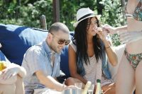 Perrier-Jouet Hosts Abe & Arthur BBQ At The EMM Group Estate #4